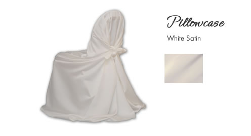 Chair Cover Rentals, Pillowcase White