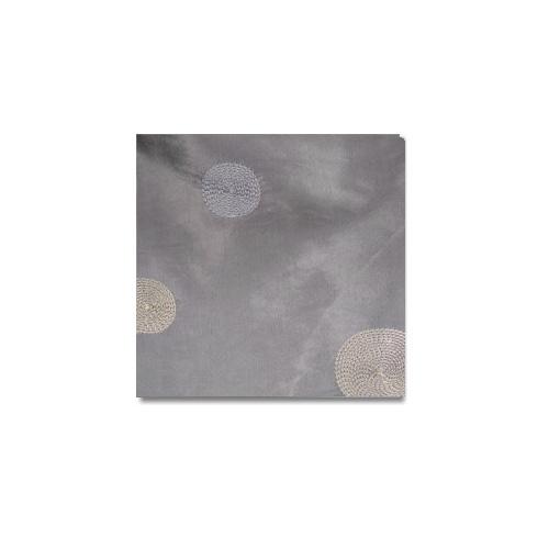 Silver Circle Taffeta Linen Rentals