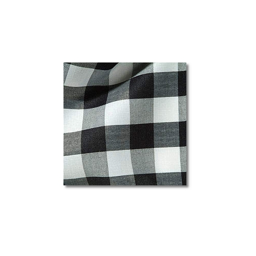 Black Check Novelty Linen Rentals