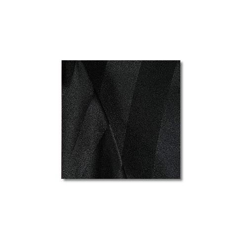 Black Polyester Satin Stripe Linen Rentals