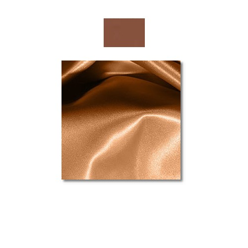 Copper Penny Mystique Satin Linen Rentals