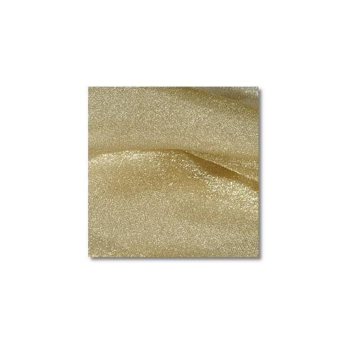 Gold Sparkle Organza Linen Rentals