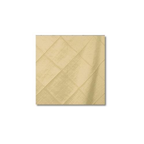 Ivory Pintuck 4 Inch Linen Rentals