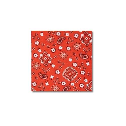 Red Bandana Novelty Linen Rentals