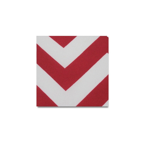 Red Chevron Linen Rentals