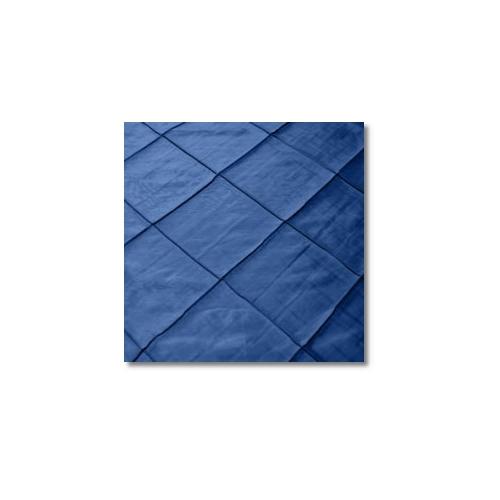 Royal Blue Pintuck 4 Inch Linen Rentals