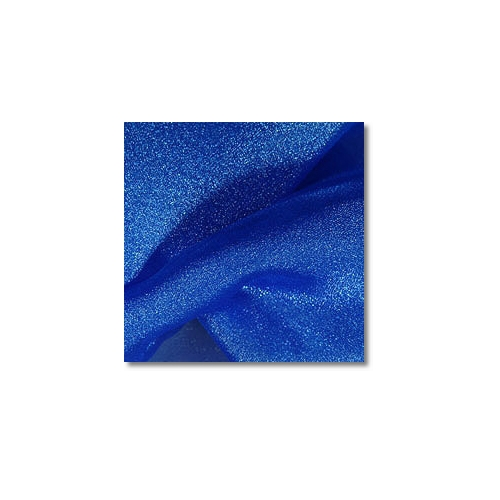 Royal Blue Sparkle Organza Linen Rentals