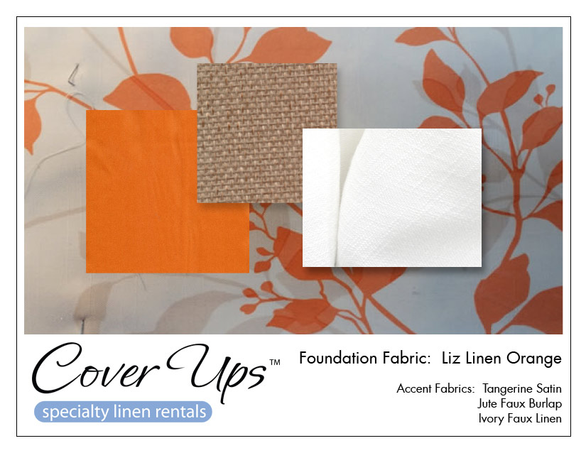 Liz Linen Orange Storyboard