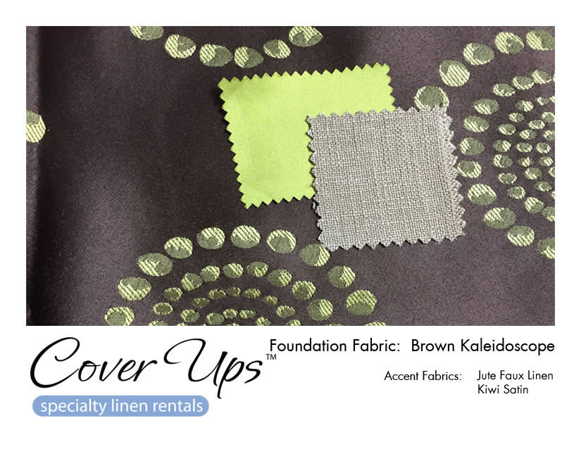 Brown Kaleidoscope Linen Rentals Storyboard