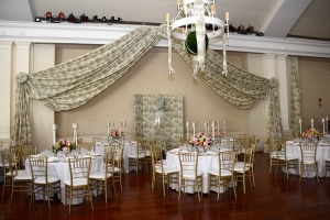 Swan Ball decor