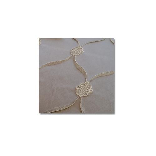 Silver Versailles Linen Rentals