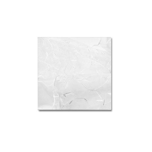 White Embroidered Organza
