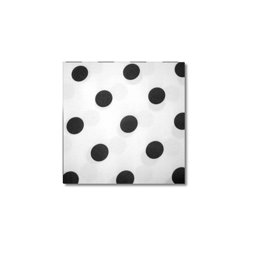 Black White Polka Novelty Linen Rentals