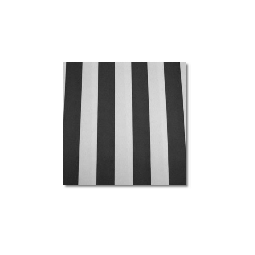 Black White Stripes Novelty Linen Rentals