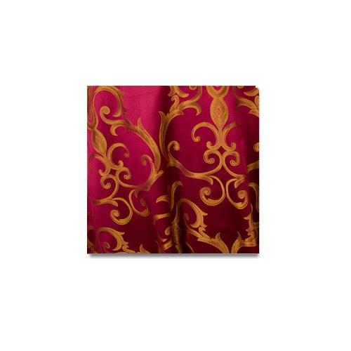 Burgundy Gold Chopin Linen Rentals