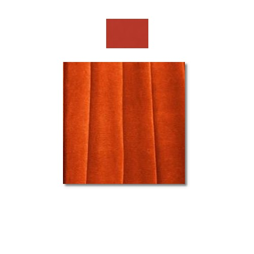 Burnt Orange Mystique Satin Linen Rentals