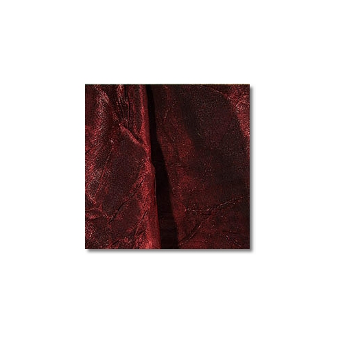 Deep Red Iridescent Crush Linen Rentals