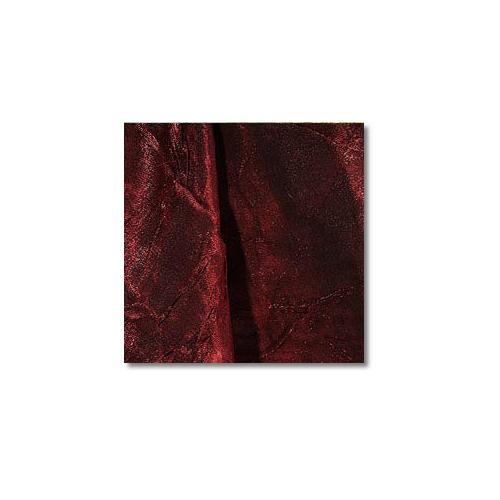 Deep Red Iridescent Crush Linen Rentals