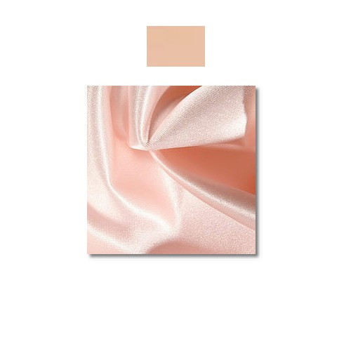 Peach Majesty Mystique Satin Linen Rentals