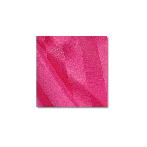 Raspberry Polyester Satin Stripe Linen Rentals
