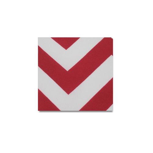 Red Chevron Linen Rentals
