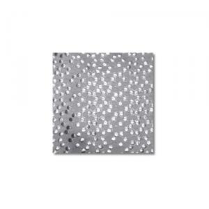 White-silver Bedazzle Linen Rentals