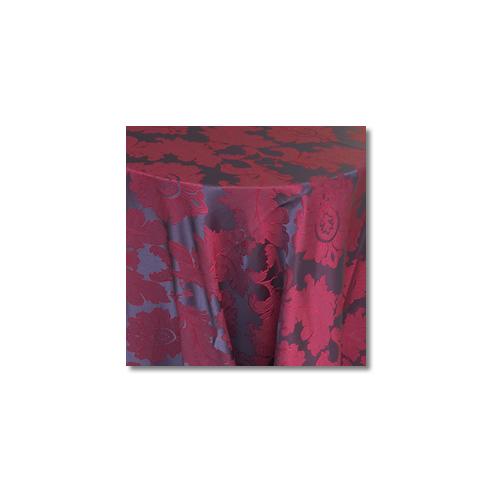 Red Mulberry Alex Damask Linen Rentals