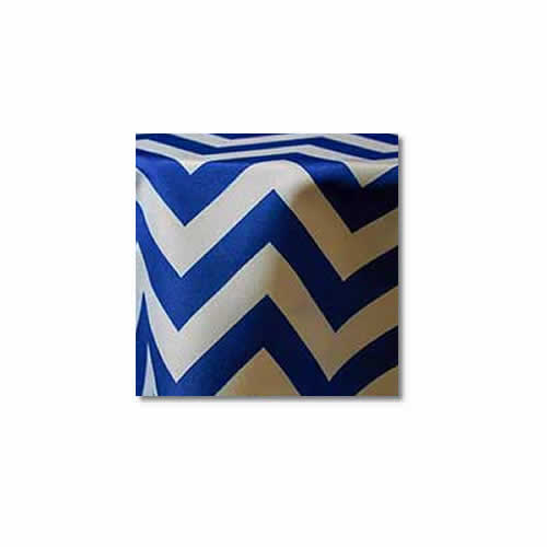 Royal Chevron Linen Rentals