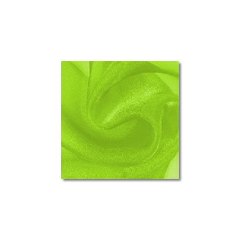 Lime Sparkle Organza Linen Rentals